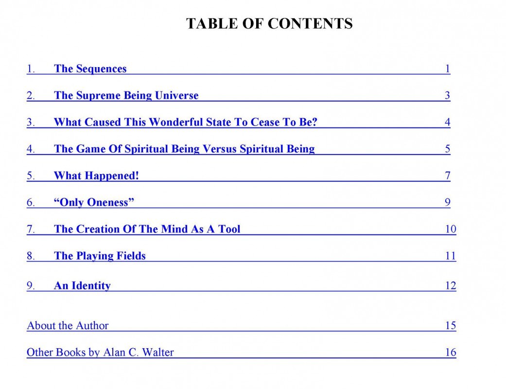The-sequences-Contents
