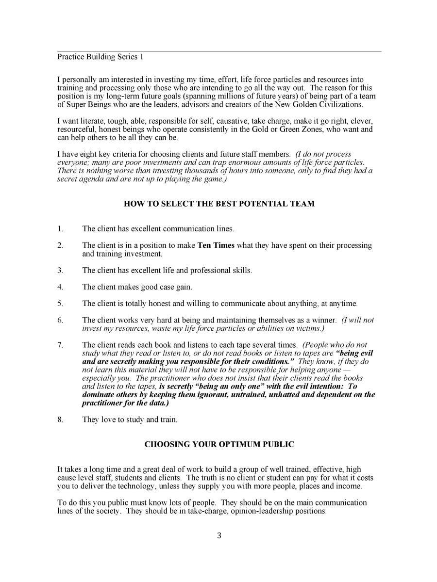 Key Fundamentals to Building a Practice (E-Book)